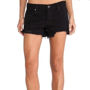 Free people shark bit shorts, size 26